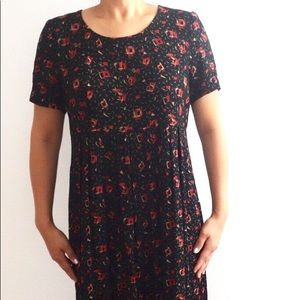 Vintage Carole Little Petites 8 Dress Geometric